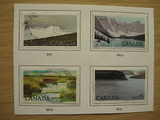 Used Postage Canadian Stamps