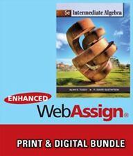 Bundle: Intermediate Algebra, 5th + WebAssign Printed Access Card for Tussy/Gust