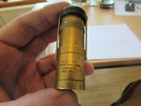 A1 stunning rare vintage hardy alnwick brass zefer dry fly fishing oil bottle .