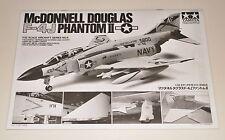 TAMIYA F-4J PHANTOM II 60306 PARTS *INSTRUCTION MANUAL* 1/32