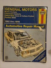 1987 GM Pontiac 6000 Service Shop Repair Workshop Manual OEM Factory 87