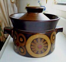 Retro Denby Arabesque Small Casserole Stew Soup Lidded Dish Pot 1960's/70's
