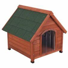 Cuccia per cani legno coibentata isolamento termico taglia Media