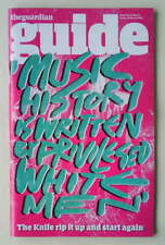 THE KNIFE RARE The Guardian Guide UK Mag March 2013 Karin/Olof Dreijer Fever Ray