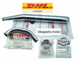 YAMAHA RX135 RX125 RXK RXS115 RX115 RX SPESIAL MUFFLER EXHAUST ASSY NEW Genuine