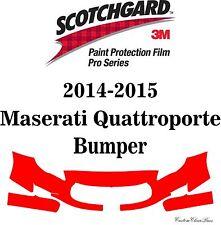 3M Scotchgard Paint Protection Film Pro Series Kits 2015 Maserati Quattroporte