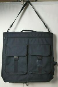 "Travelpro Rollaboard Bifold Carry On Garment Bag Black Nylon 42"""