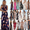 Summer Womens BOHO Beach Sundress Evening Party Cocktail Long Skirt Maxi Dress