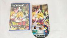 PS2 Dragon Ball Z Budokai Tenkaichi Complete Pal VGC Playstation 2