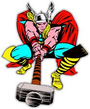 "Thor Comics Kids Cartoon Car Bumper Window Vinyl Sticker Decal 4""X5"""