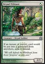 *MRM* ENGLISH 4x Dryad Militant - Militante dryade MTG Return to ravnica