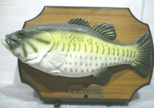 "_Vintage 1999 Big Mouth Billy Bass Singing Fish ""Don't Worry Be Happy"" - Works_"