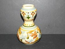EARLY TORQUAY POTTERY ALLER VALE DOUBLE GOURD SCANDY VASE IMPRESSED T MARK