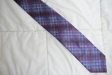 Beautiful Purple Multi Color Stripe MISSONI 100% Silk Neck Tie
