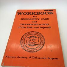Workbook Emergency Care and Transportation of the Sick and Injured 2nd Edition