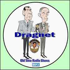 DRAGNET - 420 Old Time Radio Shows - ALL Known Episodes - MP3 on 2 DVDs
