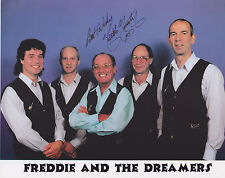 Freddie Garrity HAND Signed 8x10 Photo Autograph, Freddie And The Dreamers