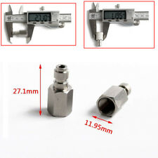 """8mm Paintball Pcp Steel 1/8"""" Npt Female Thread Quick Release Disconnect Adapter"""