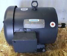 Leeson Dual Speed  2 Speed Electric Motor 1/.05 HP 460V 3 PH 1775 / 875 RPM  (H)