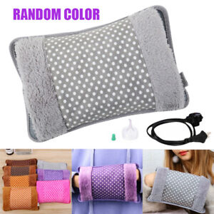 Hand Warmer Electric Hot Water Bottle Rechargeable  Winter Home Warming Bag