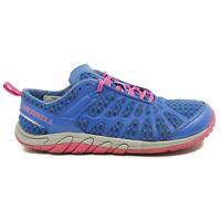 Merrell Women Barefoot Glove Crush Minimalist Shoe Size 6.5 Dazzling Blue J46588