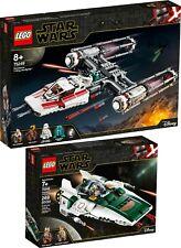 LEGO ® Star Wars 75249 75248 Widerstands Y-Wing und A-Wing Starfighter  N10/19