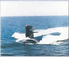 U.S.S Pargo Ssn 650 U.S. Navy Nuclear Attack Submarine 8 X 10