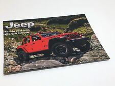 2018 Jeep Wrangler Rubicon Information Sheet Brochure