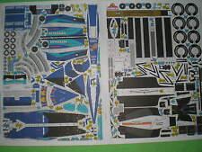 Sauber - Petronas C20 Czech rare Paper Model 1 : 24