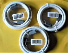 3526-67720002R 6 ft Coaxial Cable Threaded pin ends 3526 (Three Cables 3),