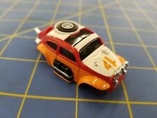Red AURORA HO MAGNATRACTION BAJA BUG slot car body Mid-America B456-R