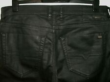 Diesel tepphar slim-carrot leather style jeans 0663Q stretch W32(33) L34 a5200