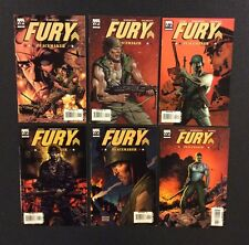 FURY PEACEMAKER #1-6 Comic Books SHIELD TV Show Garth Ennis Marvel VF 2006