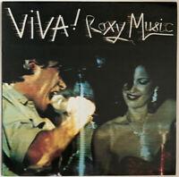 ROXY MUSIC VIVA! LP EG UK 1989 PRESS NEAR MINT PRO CLEANED