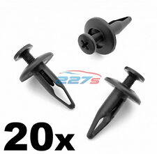 20x Jaguar Wheel Arch Lining & Sill Moulding Clips- 6.5mm Hole, C2S9354020