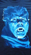 New,THE WOLFMAN T-Shirt Size Large.Classic Horror,Lon Chaney Jr,Bela Lugosi