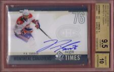 P.K. SUBBAN 2010-11 SP AUTHENTIC SIGN OF THE TIMES BGS 9.5 AUTO 10 RARE UD 10-11