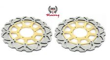 Front Brake Disc Rotors Set For Honda CBR1000RR CBR 1000RR 2006-2007 Wave Rotors
