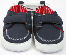Carter's Child of Mine, Red/White/Blue canvas shoes, 3-6 mths