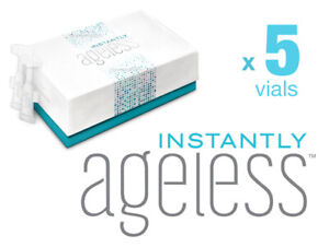 GENUINE ✅ INSTANTLY AGELESS™ • RESEALABLE VIALS x 5 ● FREE POST📮JEUNESSE✅