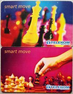 Malaysia Used Phone Cards - 2 pcs Smart Move