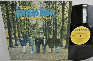 JAZZ INC. - WALKIN' ON LP - DRAGON RECORDS - JAZZ INCORPORATED LIVE - SWEDEN