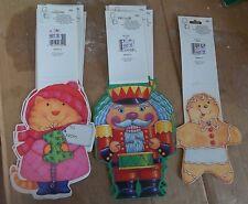 CHRISTMAS WHOLESALE LOT Of 12 Gift Bag Greeters