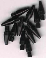 .75in. 2ba Black Aluminum Dart Shafts: 3 per set