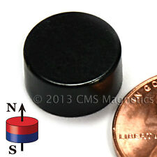 """5 pcs of D0.87/"""" x 0.25/"""" thick Rubber Coated Neodymium Base Magnet RBN-22F"""