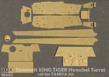 1/35 ATAK MODEL 35002 ZIMMERIT FOR GERMAN TIGER II   for Tamiya Kit 35164