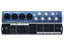 Presonus AudioBox 44VSL StudioLive Mixer Power in USB 2.0 Interface Free US Ship