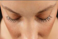 Fake/False Individual flare eyelash extentions with diamantes 10mm for Glam Eyes