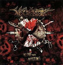 NECROBIOTIC - Alive and Rotting (CD, 2012) Death Metal from Brazil!