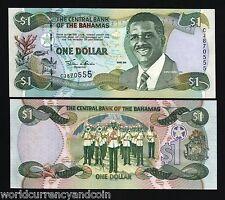 Amerika Brilliant Bahamas 1 Dollar 1968 Pick 27a Papiergeld Welt 3